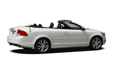 3/4 Rear Glamour  2011 Volvo C70