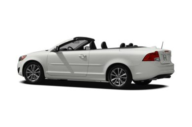 Surround 3/4 Rear - Drivers Side  2011 Volvo C70