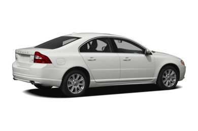 3/4 Rear Glamour  2011 Volvo S80
