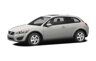 3/4 Front Glamour 2011 Volvo C30