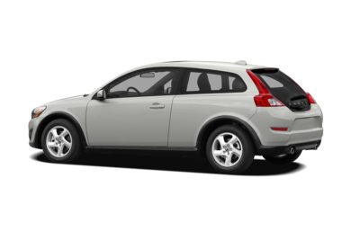 Surround 3/4 Rear - Drivers Side  2011 Volvo C30