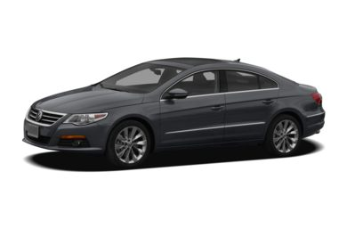 3/4 Front Glamour 2011 Volkswagen CC