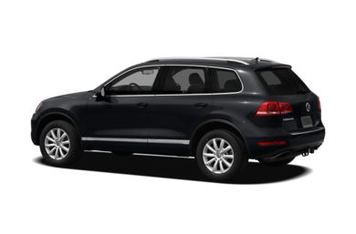 Surround 3/4 Rear - Drivers Side  2011 Volkswagen Touareg