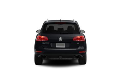 Surround Rear Profile 2011 Volkswagen Touareg