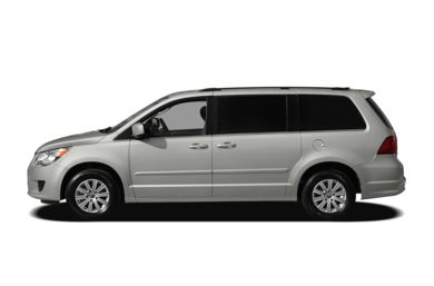 90 Degree Profile 2011 Volkswagen Routan