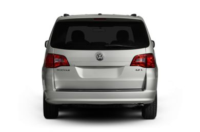 Rear Profile  2011 Volkswagen Routan