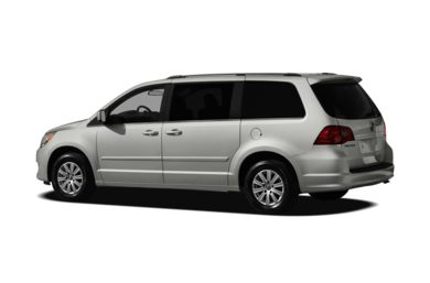 Surround 3/4 Rear - Drivers Side  2011 Volkswagen Routan