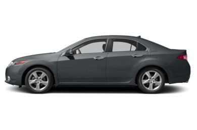 90 Degree Profile 2012 Acura TSX