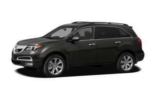 3/4 Front Glamour 2012 Acura MDX