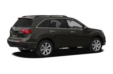 3/4 Rear Glamour  2012 Acura MDX