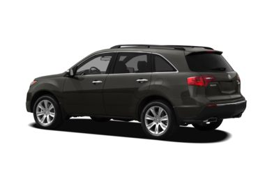 Surround 3/4 Rear - Drivers Side  2012 Acura MDX