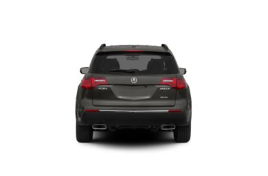 Surround Rear Profile 2012 Acura MDX