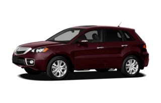 3/4 Front Glamour 2012 Acura RDX