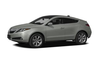 3/4 Front Glamour 2012 Acura ZDX