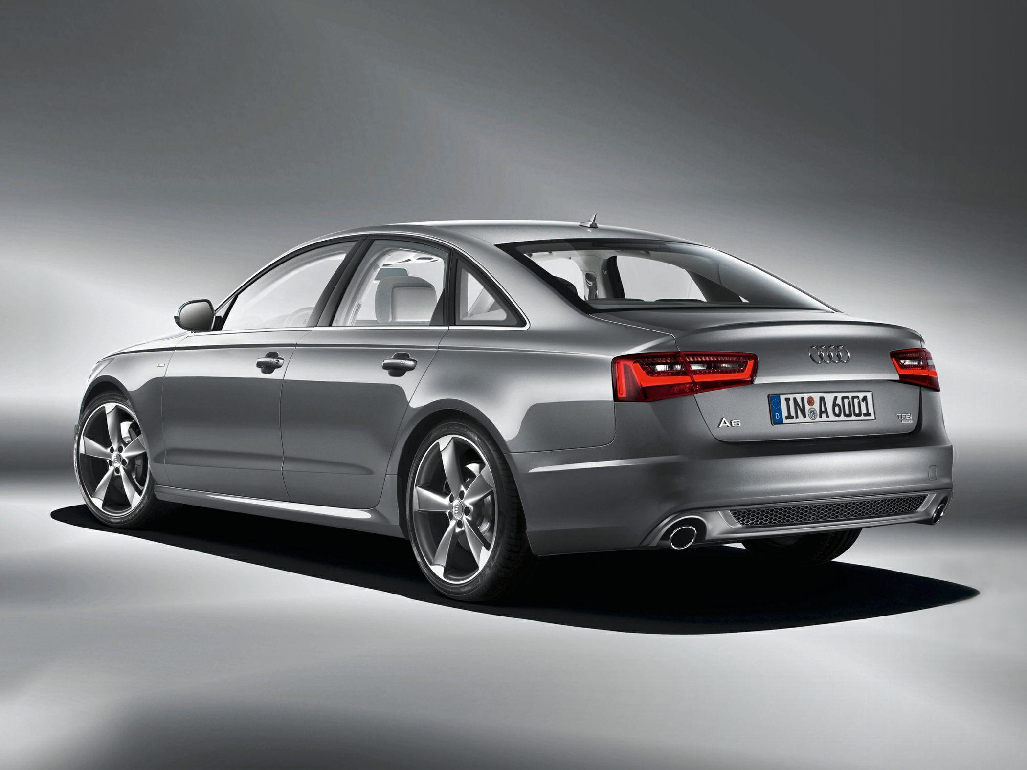 2015 Audi A6 Rear