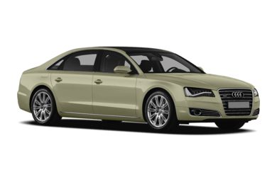 3/4 Front Glamour 2012 Audi A8