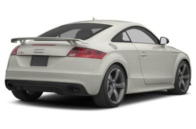 3/4 Rear Glamour  2012 Audi TT RS