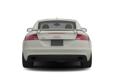 Rear Profile  2012 Audi TT RS