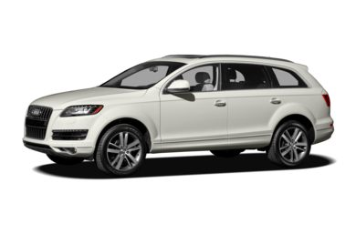 3/4 Front Glamour 2012 Audi Q7
