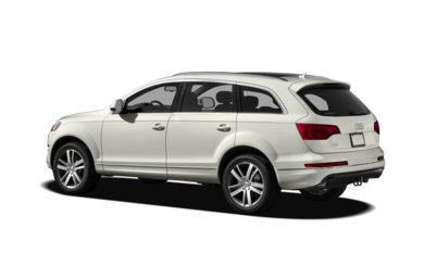 Surround 3/4 Rear - Drivers Side  2012 Audi Q7