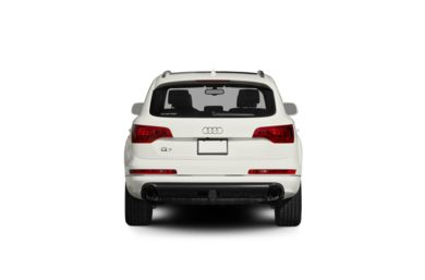 Surround Rear Profile 2012 Audi Q7