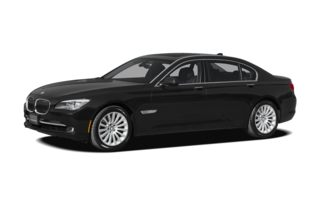 3/4 Front Glamour 2012 BMW 750