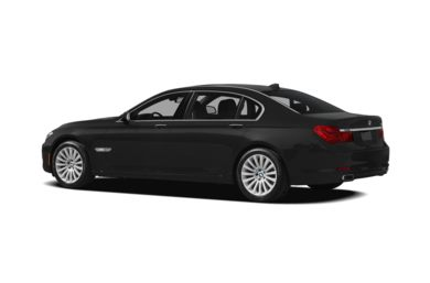 Surround 3/4 Rear - Drivers Side  2012 BMW 750
