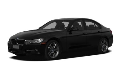 3/4 Front Glamour 2013 BMW 320