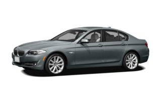 3/4 Front Glamour 2012 BMW 535