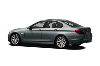 Surround 3/4 Rear - Drivers Side  2012 BMW 550