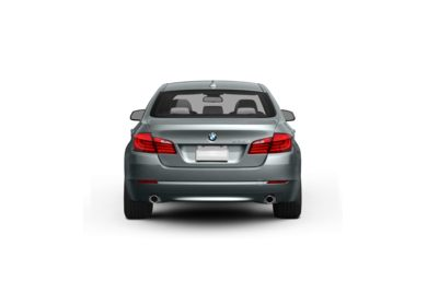 Surround Rear Profile 2012 BMW 550