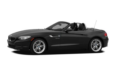 3/4 Front Glamour 2012 BMW Z4