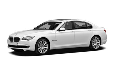 3/4 Front Glamour 2012 BMW 760
