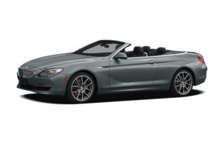 3/4 Front Glamour 2012 BMW 650