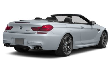 3/4 Rear Glamour  2012 BMW M6
