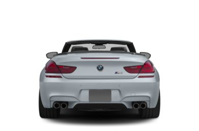 Rear Profile  2012 BMW M6