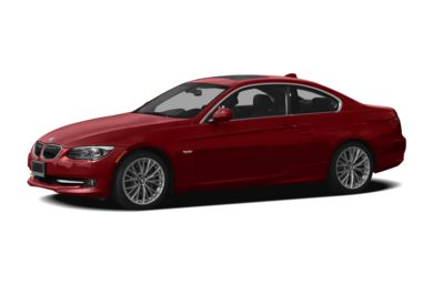 3/4 Front Glamour 2012 BMW 328