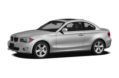 3/4 Front Glamour 2012 BMW 128