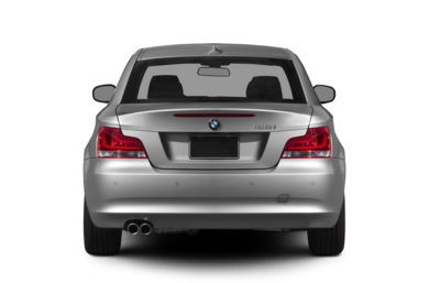 Rear Profile  2012 BMW 128
