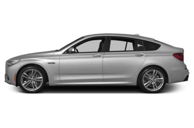 90 Degree Profile 2012 BMW 550 Gran Turismo