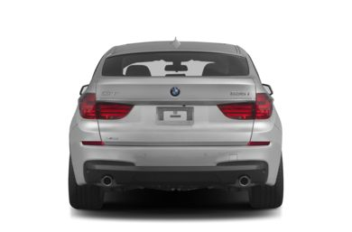 Rear Profile  2012 BMW 550 Gran Turismo