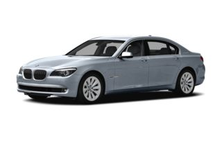 3/4 Front Glamour 2012 BMW ActiveHybrid 750