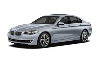 3/4 Front Glamour 2012 BMW ActiveHybrid 5