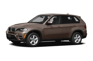 3/4 Front Glamour 2012 BMW X5
