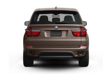 Rear Profile  2012 BMW X5