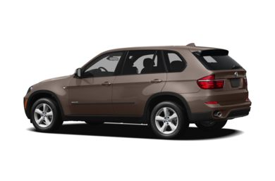 Surround 3/4 Rear - Drivers Side  2012 BMW X5