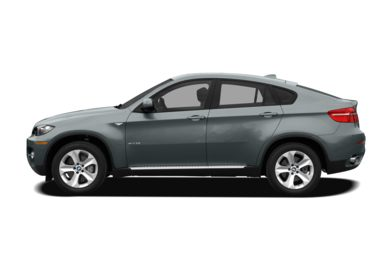 90 Degree Profile 2012 BMW X6