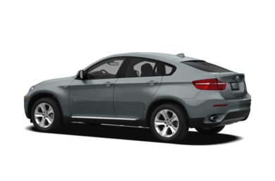 Surround 3/4 Rear - Drivers Side  2012 BMW X6