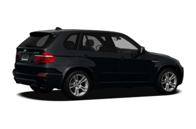 3/4 Rear Glamour  2012 BMW X5 M