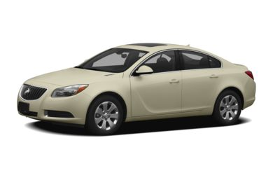3/4 Front Glamour 2012 Buick Regal